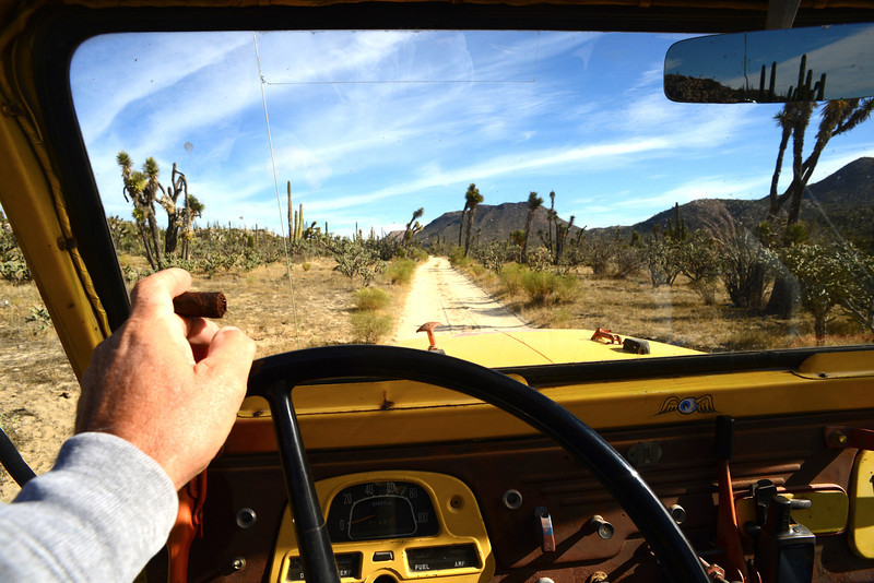 Ahh, fresh air, open roads!<br /> did I mention my cigar?