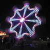 Debbie Wachter/NEWS<br /> The spinning Ferris wheel at the Lawrence County Fair is a lure to many children and teenagers.