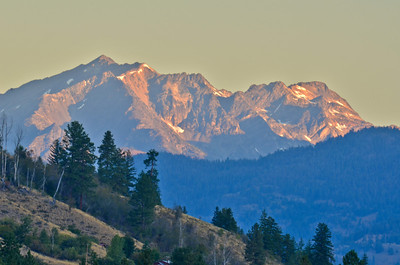 North Cascades at sunrise
