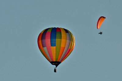 Balloon's over Methow Valley