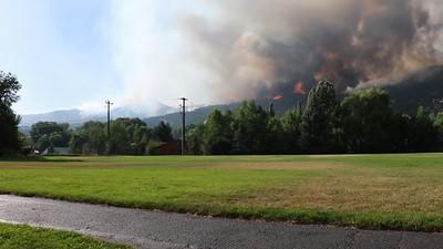 Lake Christine Fire-7/4/18