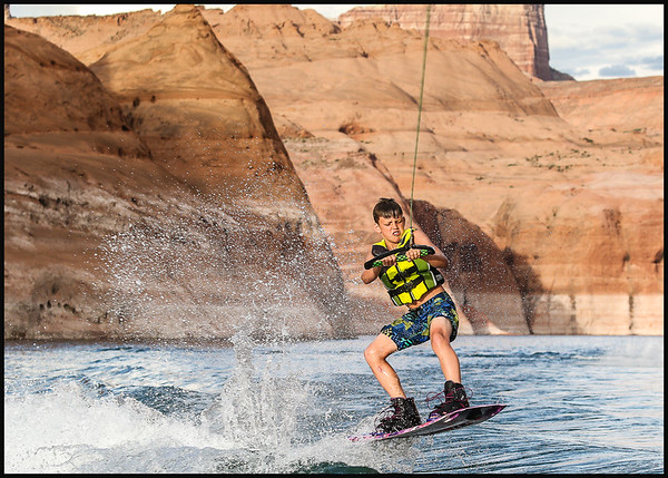 Lake Powell Family Vacation 2016
