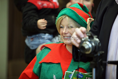 Holiday fun for all was had in Lakemore Village at the annual Christmas Tree Lighting Nov. 28 at the Municipal Building on Saturday Nov. 28, 2009, in Lakemore Village, Ohio.  By LewStampPhotography.smugmug.com Jolly Old St. Nicholas was present to kick off the holiday season with the lighting of the Lakemore Christmas tree and each child present was be able to decorate their own cookies and listen to holiday tunes.