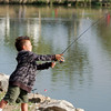 Lakeside Optimist Kids Fishing Derby : Lakeside Optimist Annual Kid's Fishing Derby held at Lindo Lake Park in Lakeside.