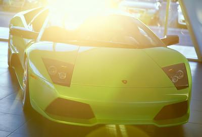 2008 Lamborghini LP640 Murcielago Verde Ithaca (pearl green) 263 miles Price $269,000.00 640 Horsepower V12 All Wheel Drive