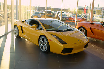 lamborghini 2005 Lamborghini Gallardo coupe Giallo Midas (pearl yellow) 1600 miles Price used $109,000.00 500 Horsepower V10 All Wheel Drive