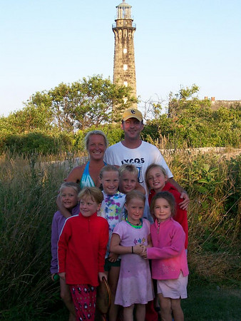 Lance-McLaughlin Family on Thacher Island