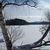 Winter on Lower St. Regis Lake, Adirondack Mountains, New York State