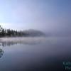 Morning on Lower St. Regis Lake, Adirondack Mountains, New York State