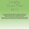Langley Music Fest 2013 Home3