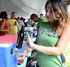 Samples of brew are poured and served during the Lansdale Beer Tasting Festival on Saturday June 28,2014. Photo by Mark C Psoras/The Reporter