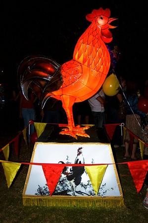 Rooster Lantern Festival Albert Park Auckland New Zealand - 2 Mar 2007
