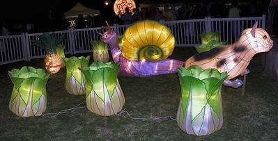 Cat and snail Lantern Festival Albert Park Auckland New Zealand - 2 Mar 2007