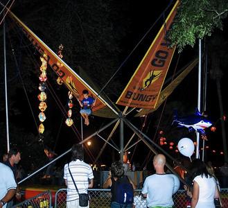 Bungy Lantern Festival Albert Park Auckland New Zealand - 2 Mar 2007