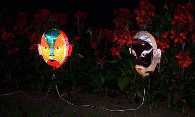 Masks Lantern Festival Albert Park Auckland New Zealand - 2 Mar 2007