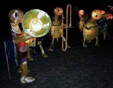 Turtle band Lantern Festival Albert Park Auckland New Zealand - 2 Mar 2007