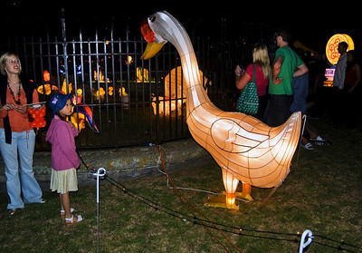 Goose Lantern Festival Albert Park Auckland New Zealand - 2 Mar 2007