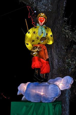 The Monkey King Lantern Festival Albert Park Auckland New Zealand - 2 Mar 2007