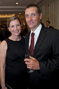 ORACLE Racing Bowman Brad Webb and Karen Webb