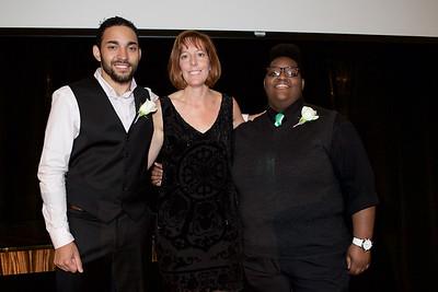 Christian Castillo: Going the Distance Achievement Award Winner 2015, Sherilyn Adams: Larkin Street Executive Director, Jhane' Harris: Award Finalist