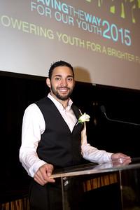Christian Castillo: Larkin Street Going the Distance Achievement Award Winner 2015
