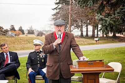 Master of Ceremonies and Eagle Scout Advisor, Dave Ehrig.