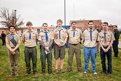 Patriot photos by Roxanne Richardson Boy Scout Troop 510