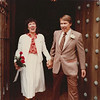 Larry and Jean on their wedding day