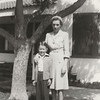 Larry and his aunt Ruth