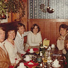 Family at Jean's restaurant, Los Altos
