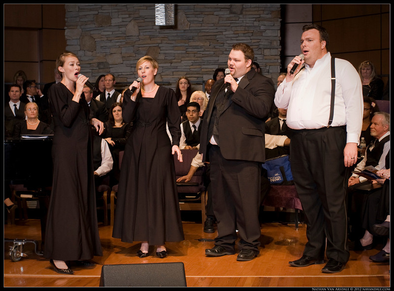 Las Vegas Master Singers, directed by Dr. Jocelyn Jensen.  Jazz Concert at Faith Lutheran Church, Featuring the UNLV Jazz Band 1, directed by David Loeb, with musical guests Naomi Watts, and Bruce Ewing.