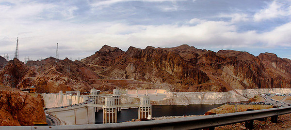 Hoover Dam. Anthony was so jealous we saw where they keep Megatron on ice.