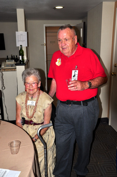 Irma and Fred Shannon (Earned the Air Force Cross in Viet Nam)