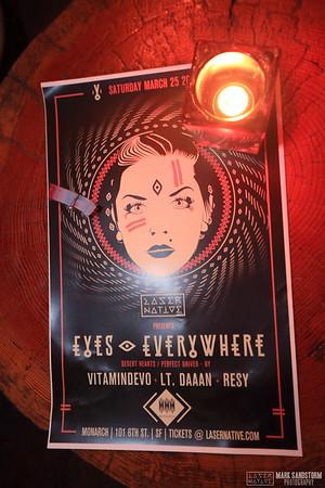 Laser Native w/ Eyes Everywhere 3-25-2017