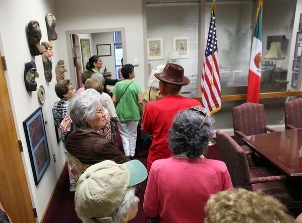 Senior Citizens Tour City Hall