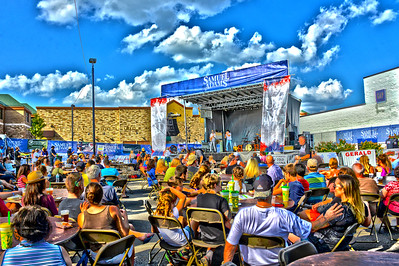 Last Fling 2016 - Naperville, Illinois - Entertainment Stage - Brass Buckle Band