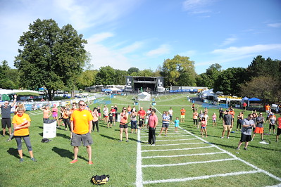 Last Fling 2016 - Naperville, Illinois - Burpee World Record Attempt