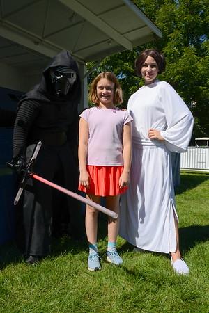 Last Fling 2016 - Naperville, Illinois - Family Fun Land - Meet & Greet - Feel The Force