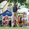 Last Fling 2016 - Naperville, Illinois - Family Fun Land - Stilt Walker
