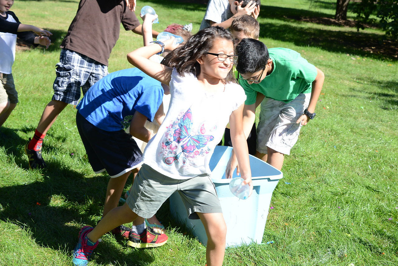 Last Fling 2016 - Naperville, Illinois - Family Fun Land - Water Balloon Dodge