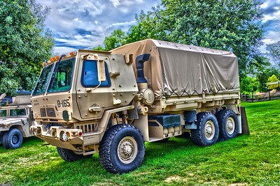 Last Fling 2016 - Naperville, Illinois - Military Vehicles