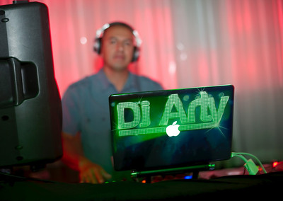 Picture of DJArty. Contact DJARTY at djartyinvegas@hotmail.com Phone (702) 415-7777 Latin Grooves Launch party on Friday night at Mike Milner's Copa Room with DJArty, DJ Mike Guzman and DJ Panic. Photograph by Las Vegas photographer Mark Bowers of www.ReallyVegasPhoto.com