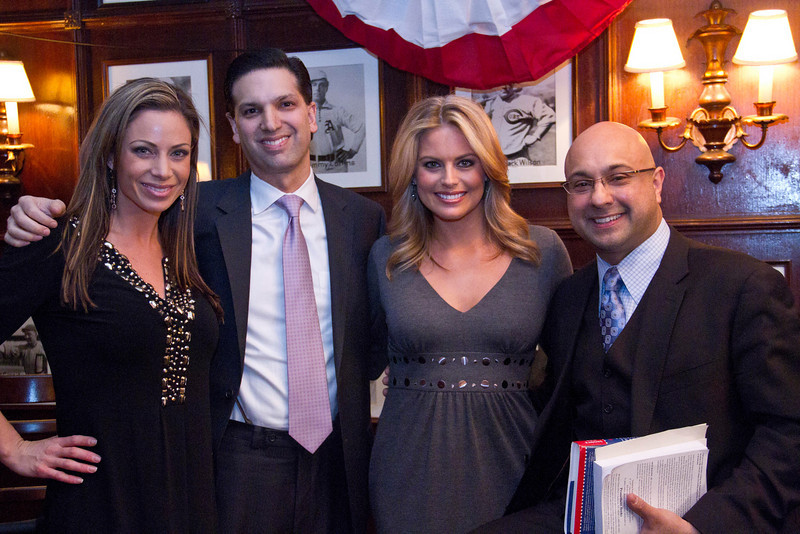 Courtney Friel, Entertainment Reporter for Fox News, Nick Ragone author, attorney and public relations executive, Jill Nicolini, entertainment reporter for PIX11 Morning News and Ali Velshi, chief business correspondent, anchor of CNN Newsroom.