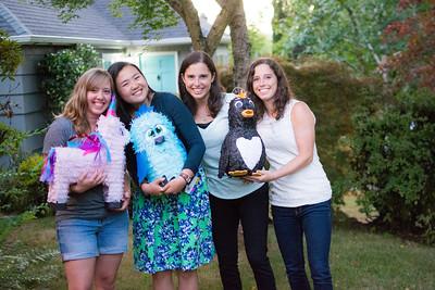 Laura, Mara, Cathy - Bday Party
