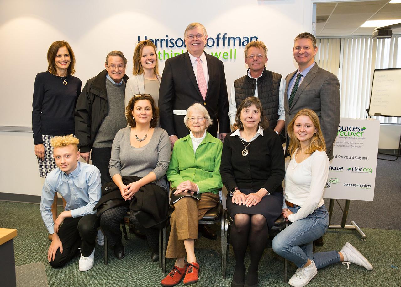 5D3_8609 Dr  Alice Medalia, Crozer Martin, Mayor David Martin and the Hoffman Family