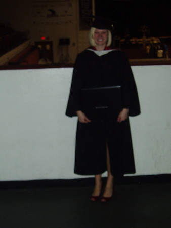 Lauren Graduates from Bellarmine 12-07