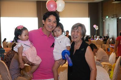 Lauren Mae birthday party