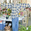 Mitchel Olszak/NEWS<br /> This scarecrow was one of the competitive entries at the Lawrence County Fair.