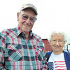 Debbie Wachter/NEWS<br /> Wendall Donald Wilson enjoys the fair with his wife, Vivian, without having added responsibility. Wilson was honored by the Pennsylvania Department of Agriculture for his 30 years of service on the Lawrence County Fair board of directors. He retired from the board a few years ago.