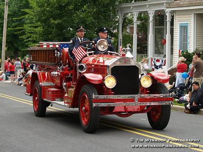 Flemington Fire Department's 1928 American LaFrance.